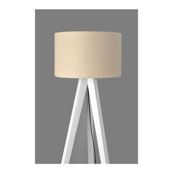 Lampa stojąca Tripod White/White