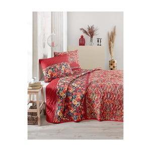 Narzuta na łóżko dwuosobowe z poszewkami na poduszki Despina, 200x220 cm