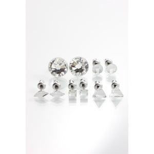 Zestaw 5 par kolczyków z kryształami Swarovski Elements Laura Bruni Barbara