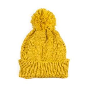 Żółta czapka z pomponem Jimmy