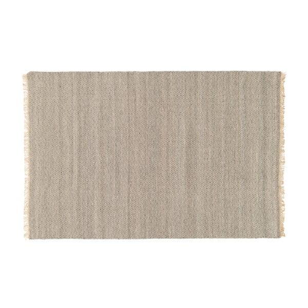 Wełniany dywan Kyla Smoke, 80x300 cm