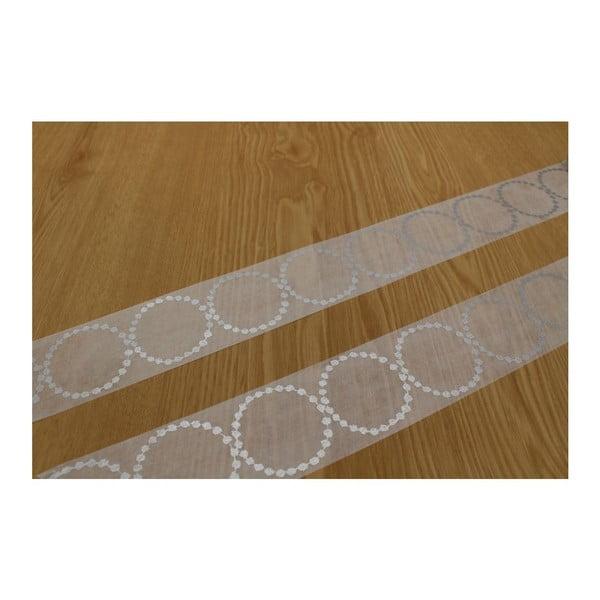 Taśma dekoracyjna washi Tambourine Silver