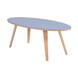 Niebieski owalny stolik Garageeight Arvika