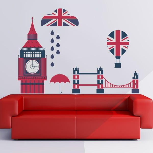 Naklejka na ścianę Brytania, 50x70 cm