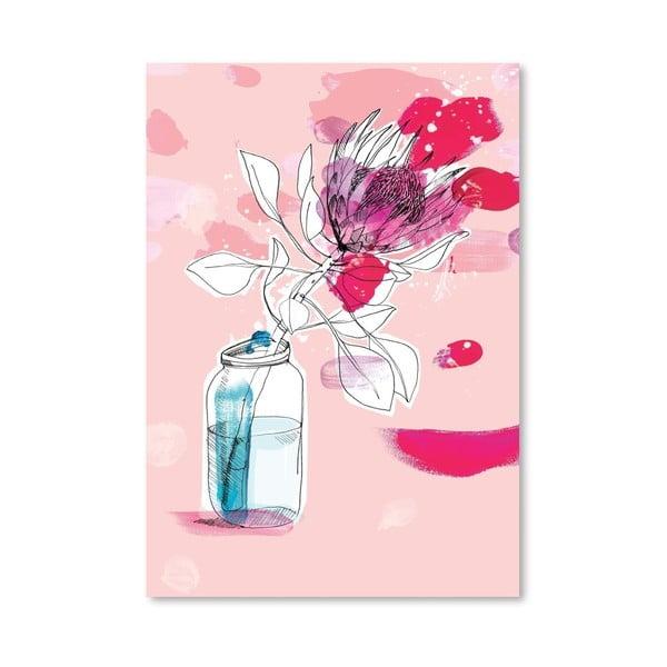 Plakat Vast Flower, 30x42 cm