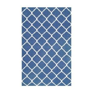 Ręcznie tkany dywan Julia Dark Blue, 120x180 cm