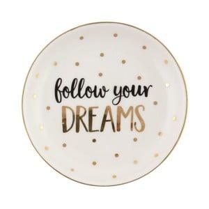 Talerz z ceramiki Sass & Belle Follow Your Dreams