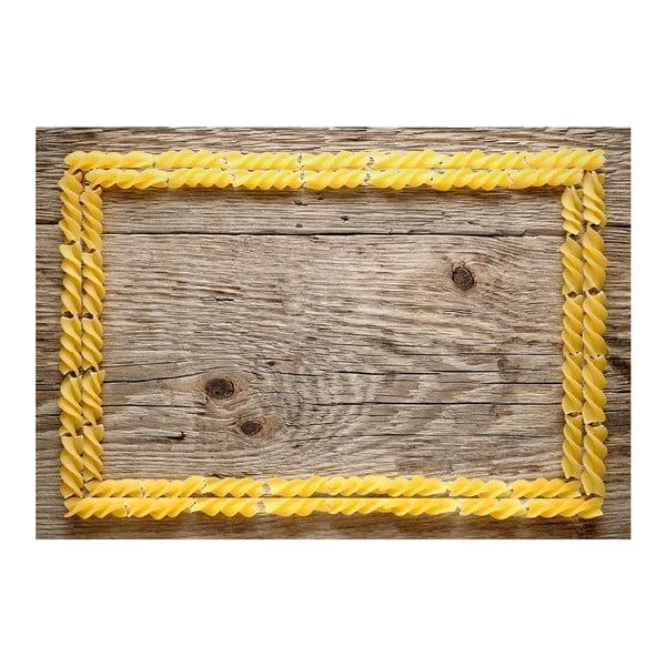 Dywan winylowy Pasta, 52x75 cm