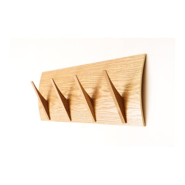 Wieszak wiszący z litego drewna Woodman Rack Naki Oak Large