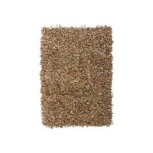 Skórzany dywan Rodeo 160x230 cm, beżowy