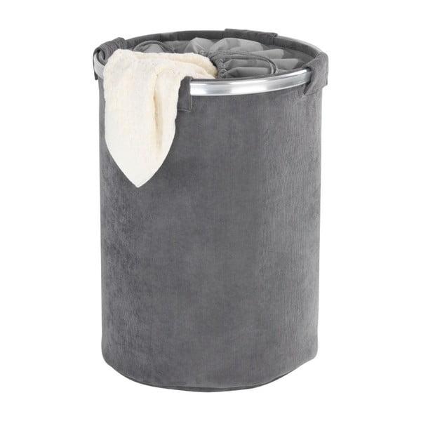 Szary kosz na pranie Wenko Cordoba, 68 l