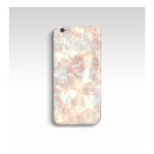 Etui na telefon Marble Powder Gold na iPhone 6/6S