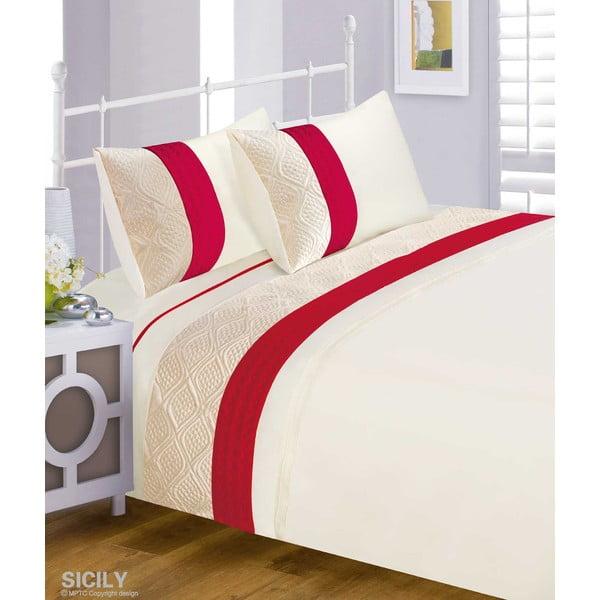 Pościel Sicily Red, 230x220 cm