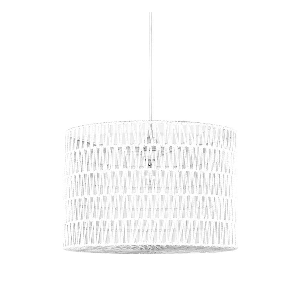 Biała lampa wisząca LABEL51 Stripe
