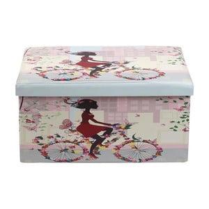 Puf/pudełko Romantic Bike