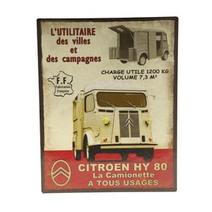 Blaszana tablica Camion 80, 22x28 cm