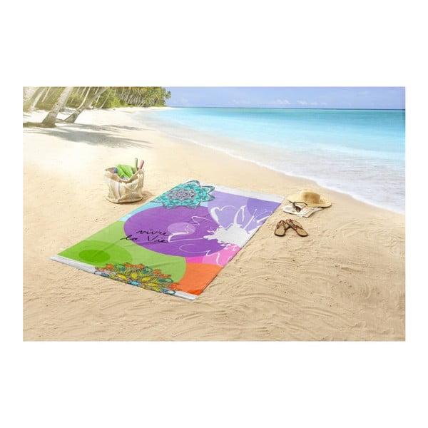 Ręcznik plażowy z nadrukiem HIP Vivant, 100x180 cm