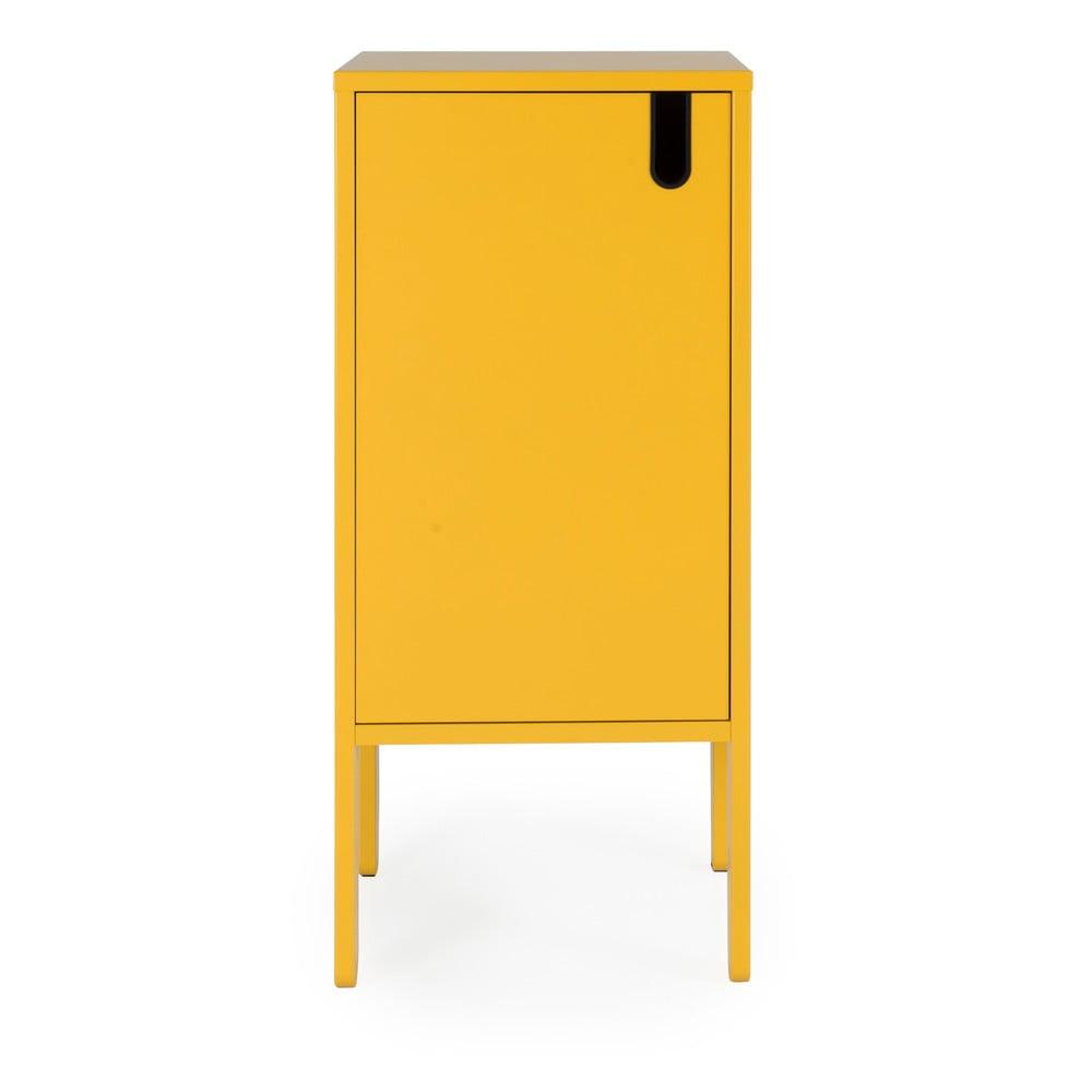 Żółta szafka Tenzo Uno, szer. 40 cm
