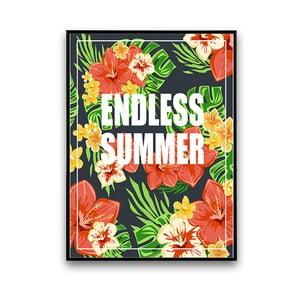 Plakat z kwiatami Endless Summer, 30 x 40 cm
