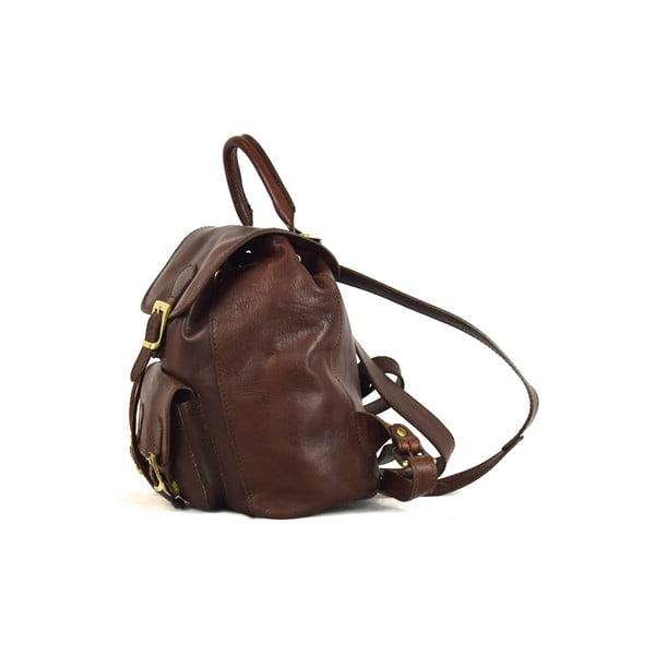Skórzany plecak Santo Croce 8834 Dark Brown