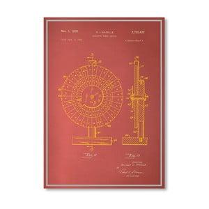 Plakat Roulette Wheel II, 30x42 cm