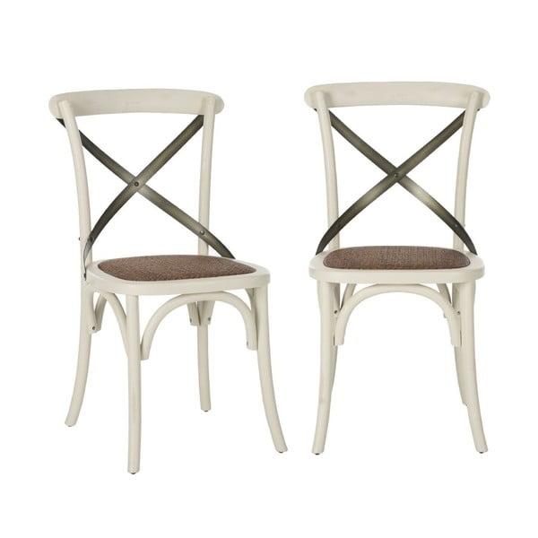 Zestaw 2 krzeseł Eliana