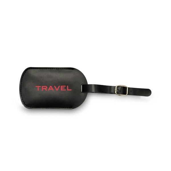Etykieta imienna na walizkę Discover
