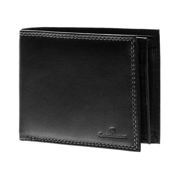 Skórzany portfel Continuum 1511, podwójne szycie