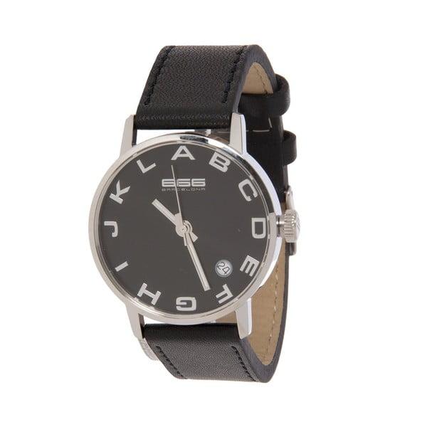 Damski zegarek Alphabet Lady Leather Black/Silver
