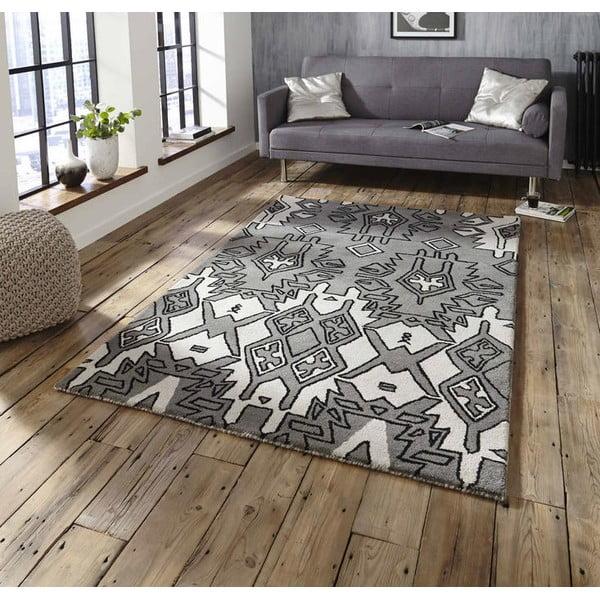 Dywan Spectrum Grey Silver 120x170 cm