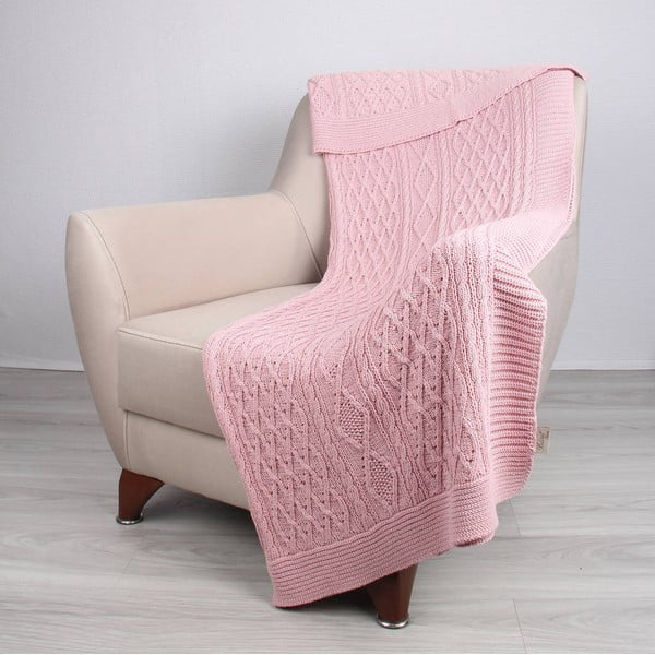 Koc Colma Pink, 130x170 cm