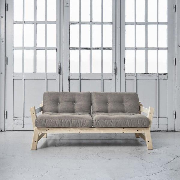 Sofa rozkładana Karup Step Natural/Granite Grey