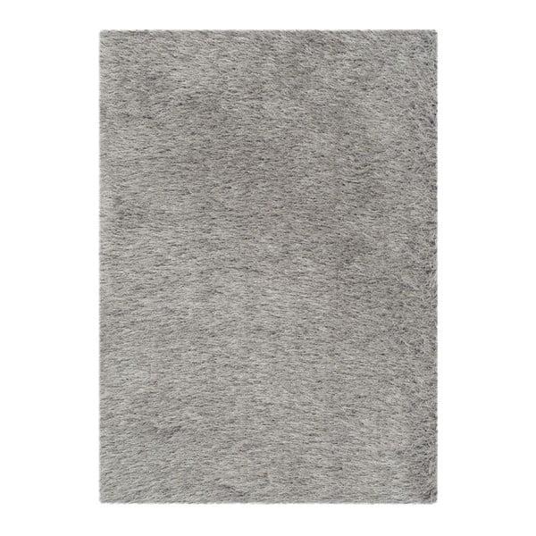 Dywan Edison Shag Grey, 91x152 cm