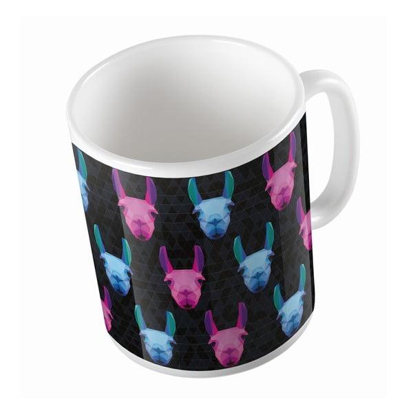 Kubek ceramiczny Leon Llama, 330 ml