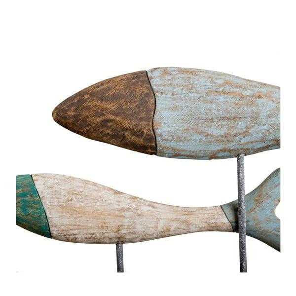 Drewniana dekoracja Ixia Fishes