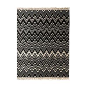 Dywan Hanse Home Fringe Black, 80 x 150 cm