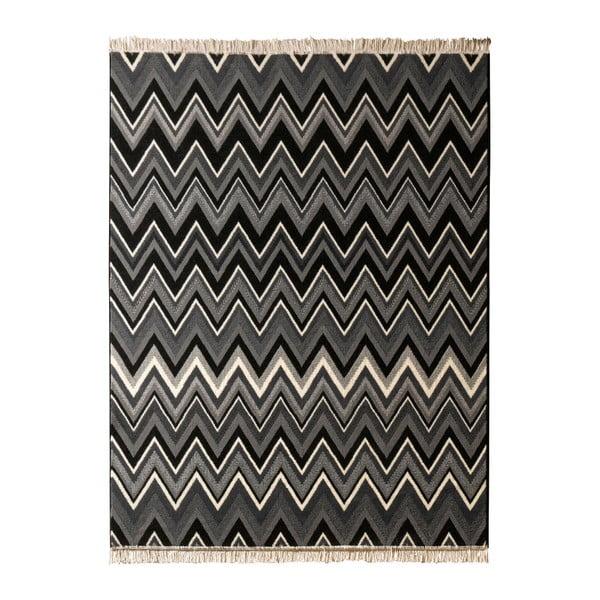 Dywan Hanse Home Fringe Black, 160 x 230 cm