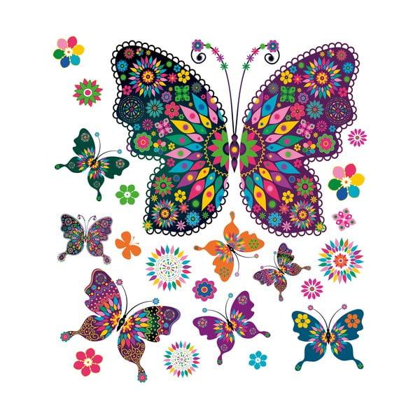 Naklejka na okno My Pretty Butterflies
