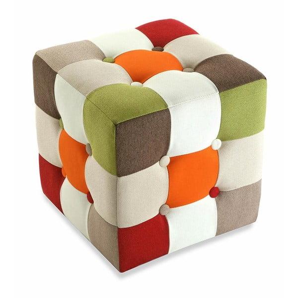 Puf Versa Red Cube