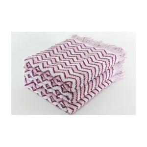 Zestaw 3 ręczników Lora Mauve, 50x100 cm