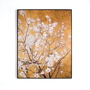 Obraz ręcznie malowany Graham & Brown Blossom, 90x70 cm