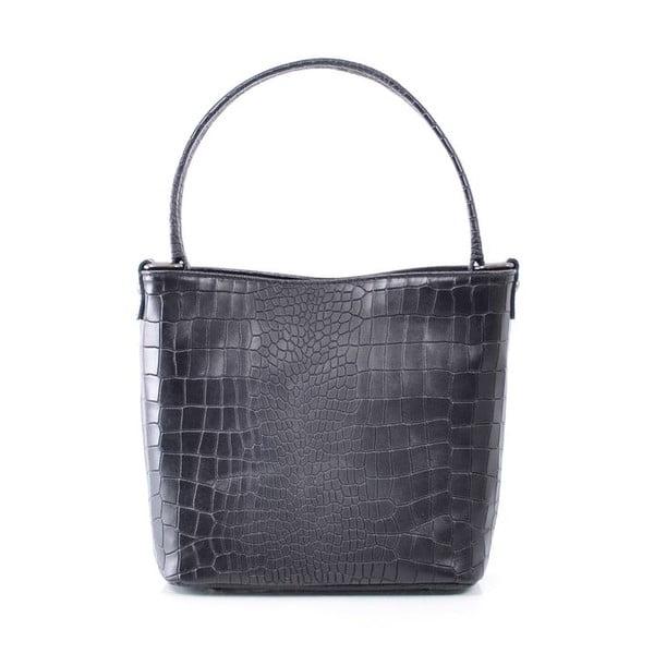 Skórzana torebka Dorothée, czarna