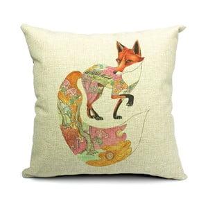 Poszewka na poduszkę Fox Algodon, 45x45 cm