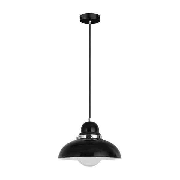 Lampa wisząca, czarna