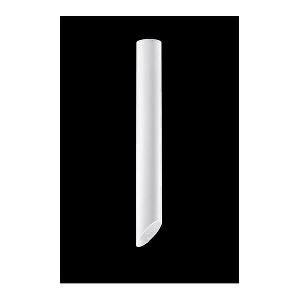 Biała lampa sufitowa Nice Lamps Nixon, długość 80 cm
