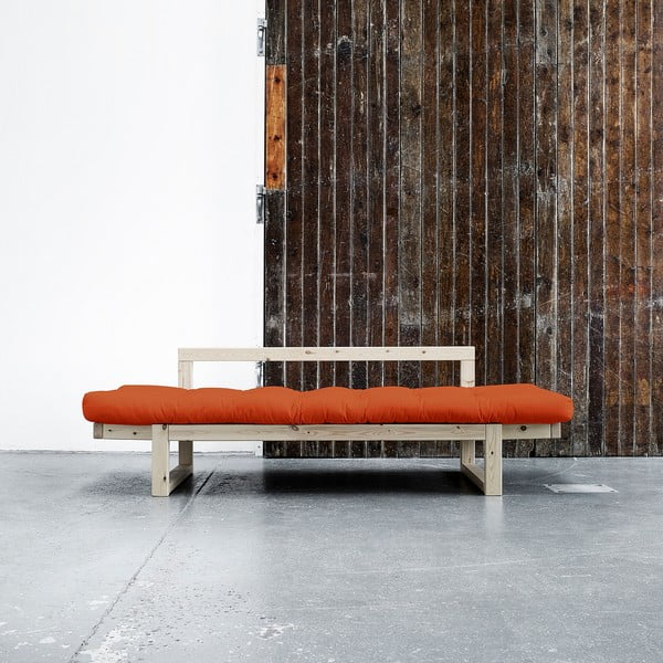 Sofa Karup Edge Natural/Orange