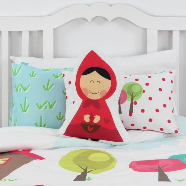 Dziecięca pościel bawełniana z poszewką na poduszkę Mr. Fox Grandma, 140x200 cm