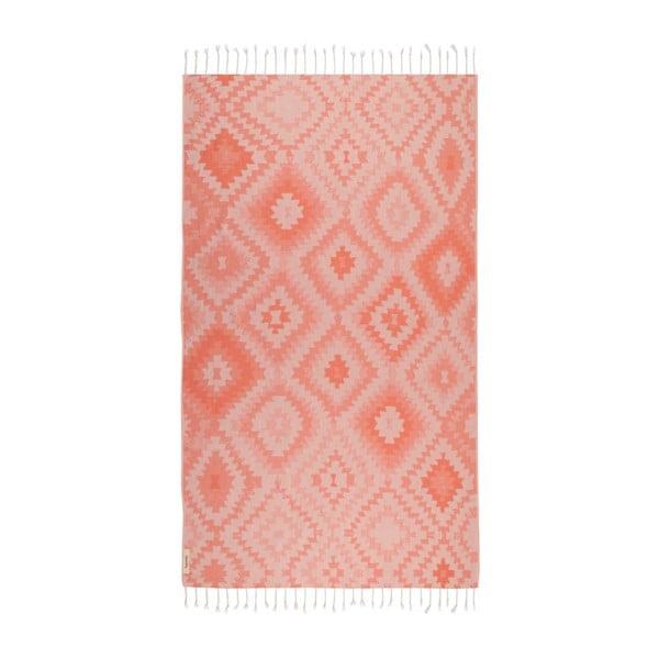 Ręcznik hammam Vive Orange, 95x180 cm