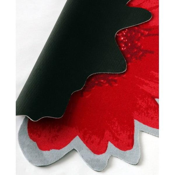 Dywan Special - czerwony kwiat, 100 cm