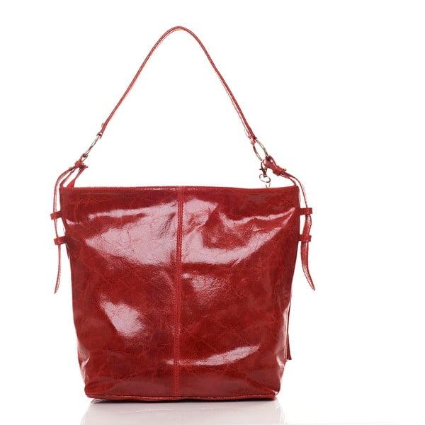 Skórzana torebka Hobo Red